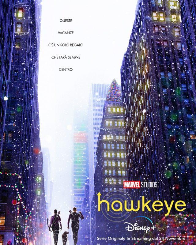 hawkeye poster italiano