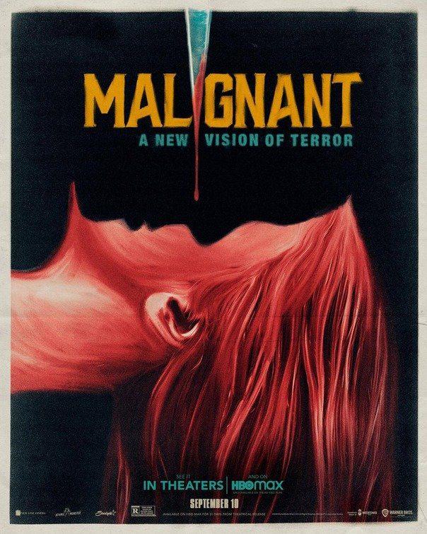 malignant horror poster