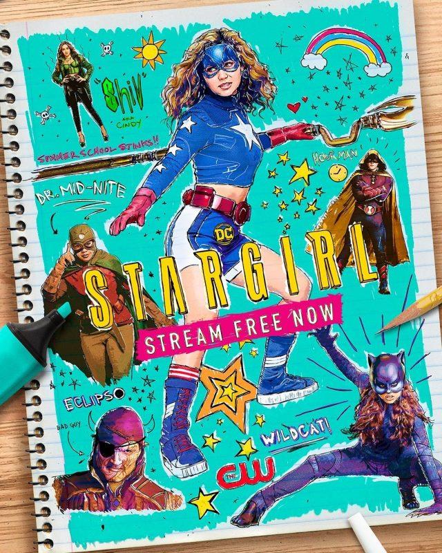 stargirl poster seconda stagione